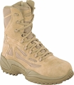 Reebok Rapid Response 8 Inch Composite Toe Side Zip Military Boot RB8894