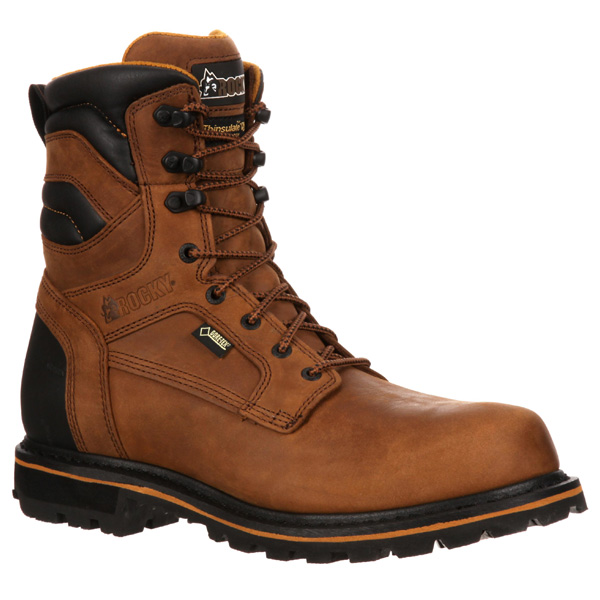 e03788540a6 Rocky Governor 8 inch Composite Toe Insulated Work Boot RKYK061