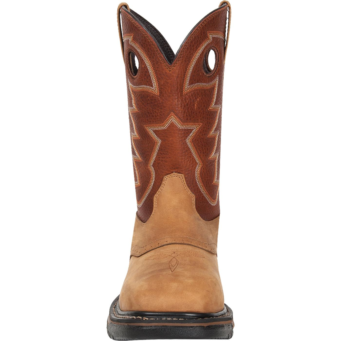 Western Original Ride 10 Inch On Square Toe Cowboy Boot RKYW039