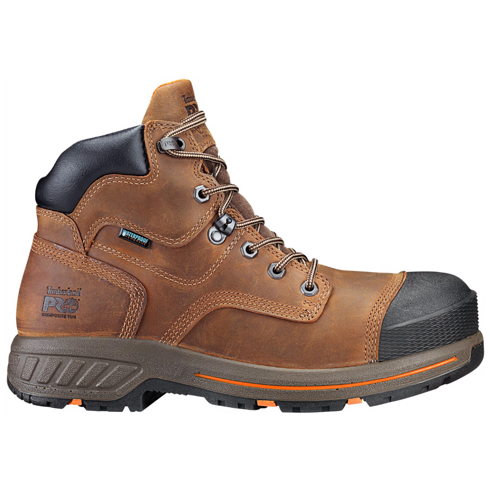 Timberland Pro Helix Waterproof 6In Soft Toe - Brown