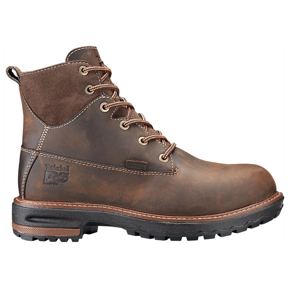 fc66757d367 Timberland PRO Women's Hightower 6 Inch Waterproof Alloy Toe Work Boot A1KJ5