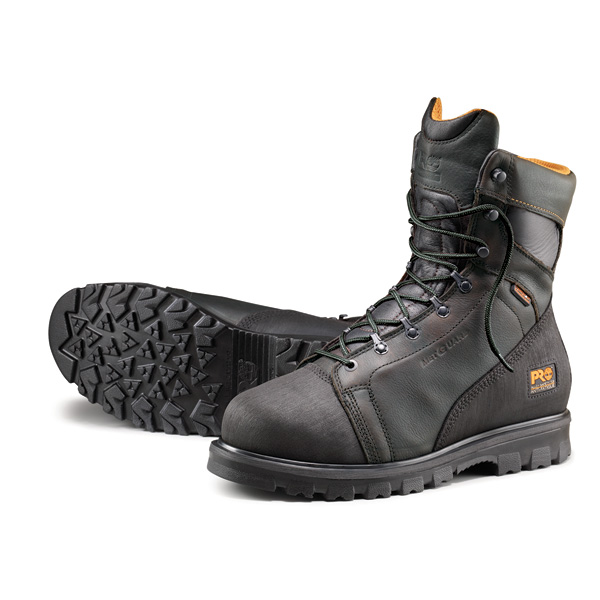 Timberland Pro 8In Met Guard- Black boots