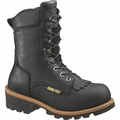 Wolverine Buckeye 8 Inch Safety Toe Logger Boot W05634