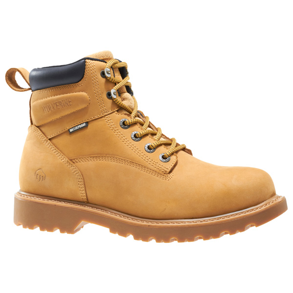 1468622c37c Wolverine Floorhand 6 Inch Waterproof Steel Toe Work Boot W10632
