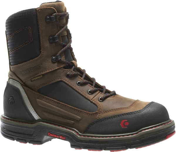 110b1a68f35 Wolverine Overman 8 Inch Composite Toe Waterproof Work Boot W10487