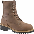Wolverine Snyder 8 Inch Steel Toe Waterproof Logger Boot W06077