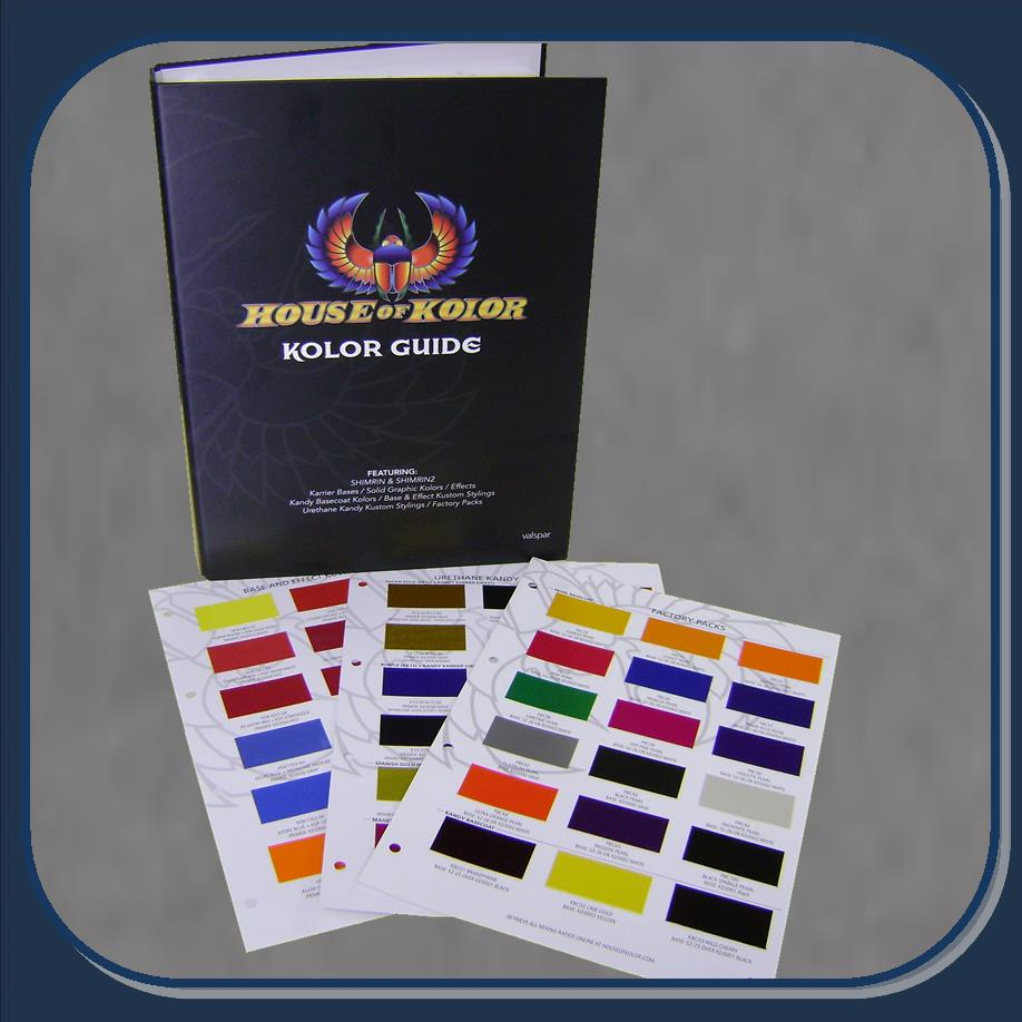 Hoc Cc160 House Of Kolor Kolor Guide Paint Chip Chart