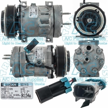 Sanden Compressor SD7H15-Super HD OEM #: F69-1015-111