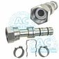 A/C Fitting #10/#12 Female Swivel