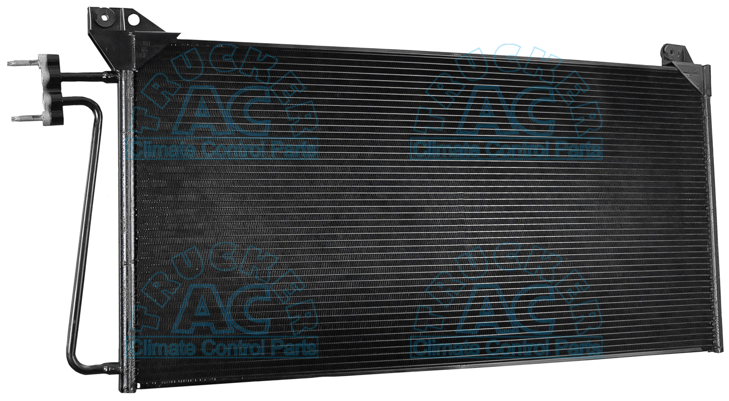 A c condenser chevrolet gmc oem 25791520 15829430 for Ac condenser pad installation