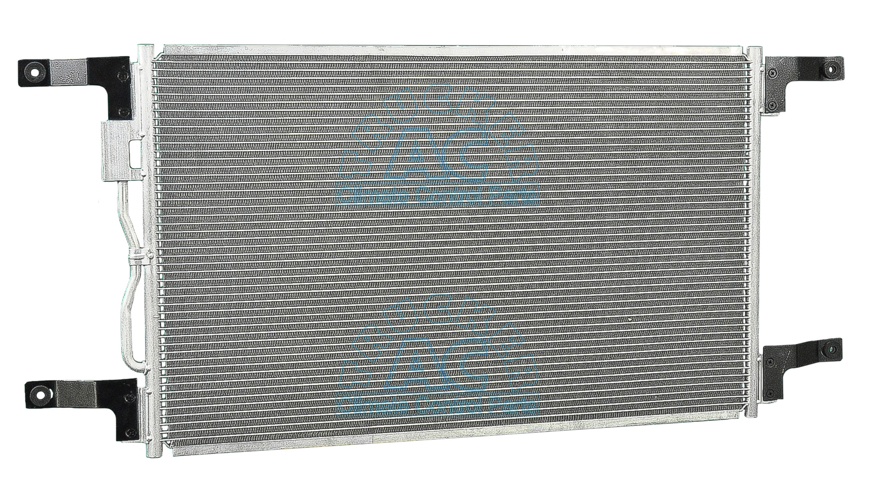 A c condenser freightliner ford oem mod1e5864 1e6068 for Ac condenser pad installation