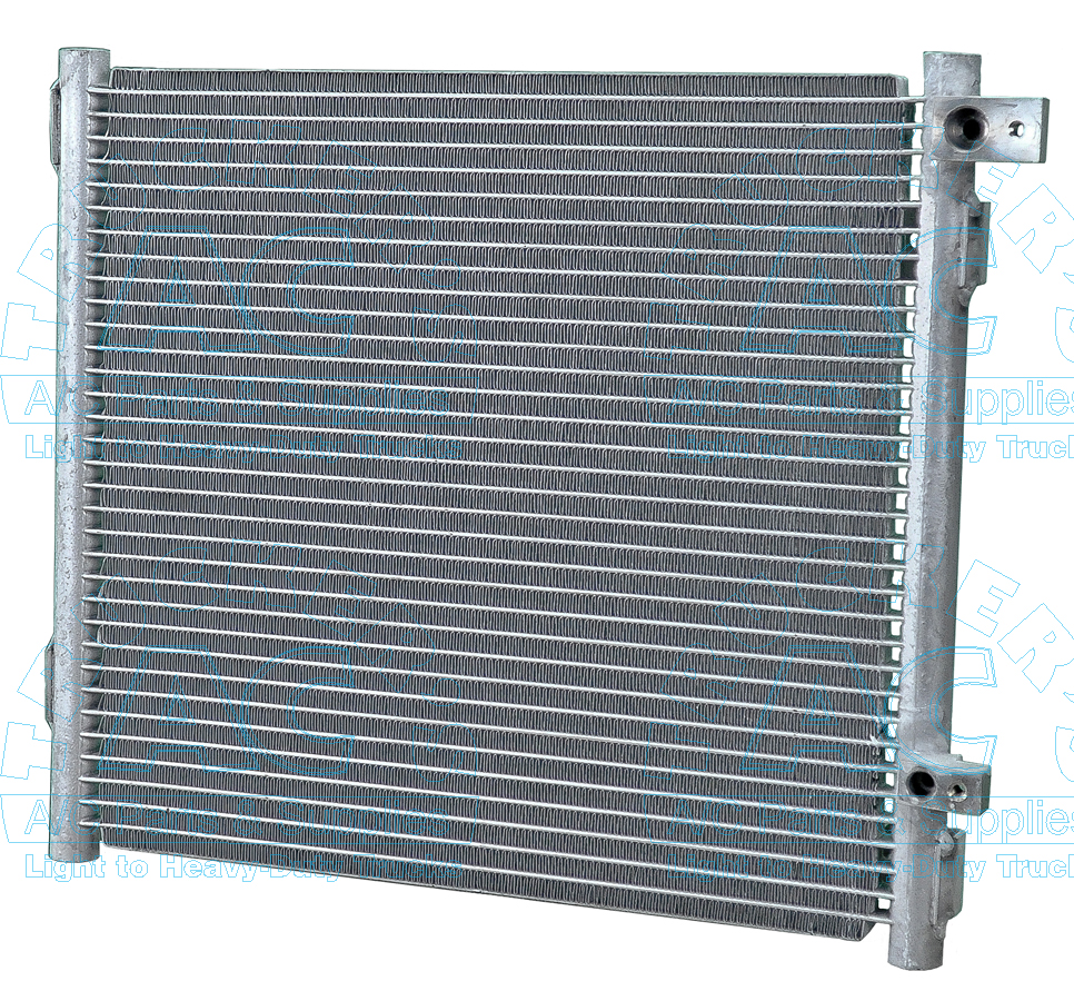 A c condenser kubota oem 3a851 50040 for Ac condenser pad installation