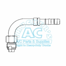 A/C Fitting 4400EZ