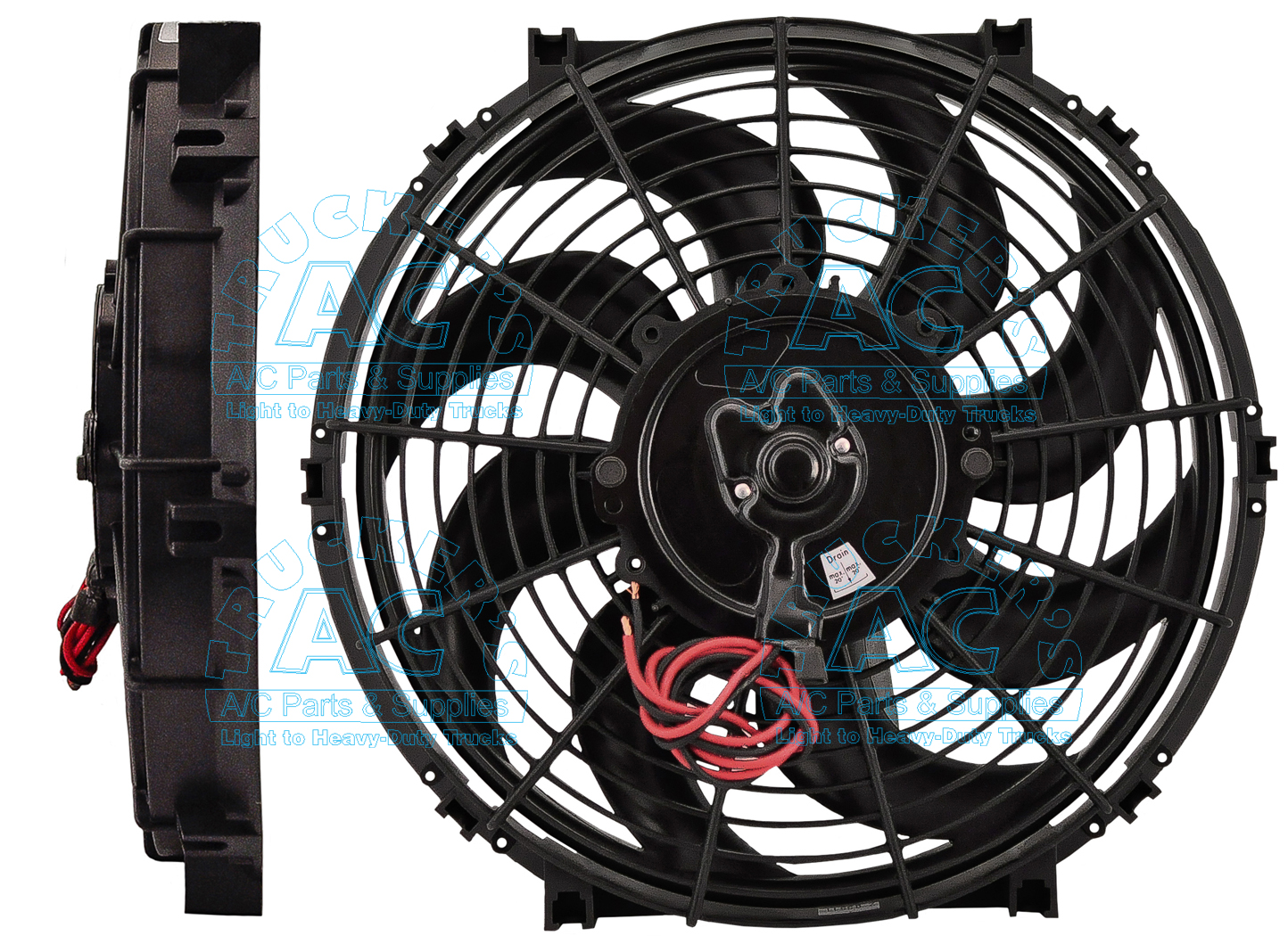 Tripac Cooling Fan Embly Aftermarket 73r 8524 Oem Rd5 7250 3