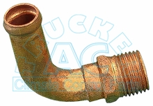 "ELBOW  1/2"" NPT x 5/8"" Hose"