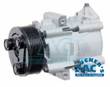 Ford Compressor & Clutch OEM# F7UH-19D629BA