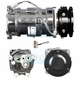 GM GMC/Off Road/Bus Replacment A6 S6 Compressor w/1 GR, 5'', 12V