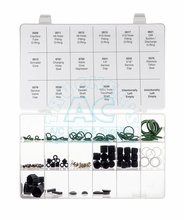 Master O'Ring Service Kit R12 / R134a Compatible