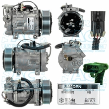 Sanden 4025 Ford Sterling A22-48973-000 A2248973000