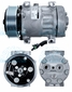 Sanden Compressor # 4028 Autocar Applications