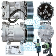 Sanden Compressor # 4405 Multi Fit Applications