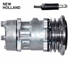 Sanden Compressor # 4673 NEW HOLLAND