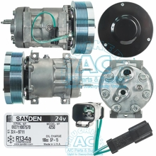 SANDEN COMPRESSOR/OFF ROAD OEM# 324-9711