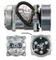 Sanden FLX7 Compressor 4309 Off Road Applications