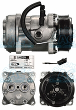 Sanden FLX7 Compressor 4866 4867 Off Road Applications