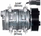 Seltec Compressor OEM#  103-67272 Farm & Off-Road