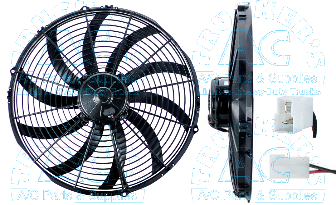 SPAL Cooling Fan Assembly VA18-AP71/LL-59A