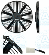 SPAL Cooling Fan Assy  OEM# VA08-BP10/C-23A
