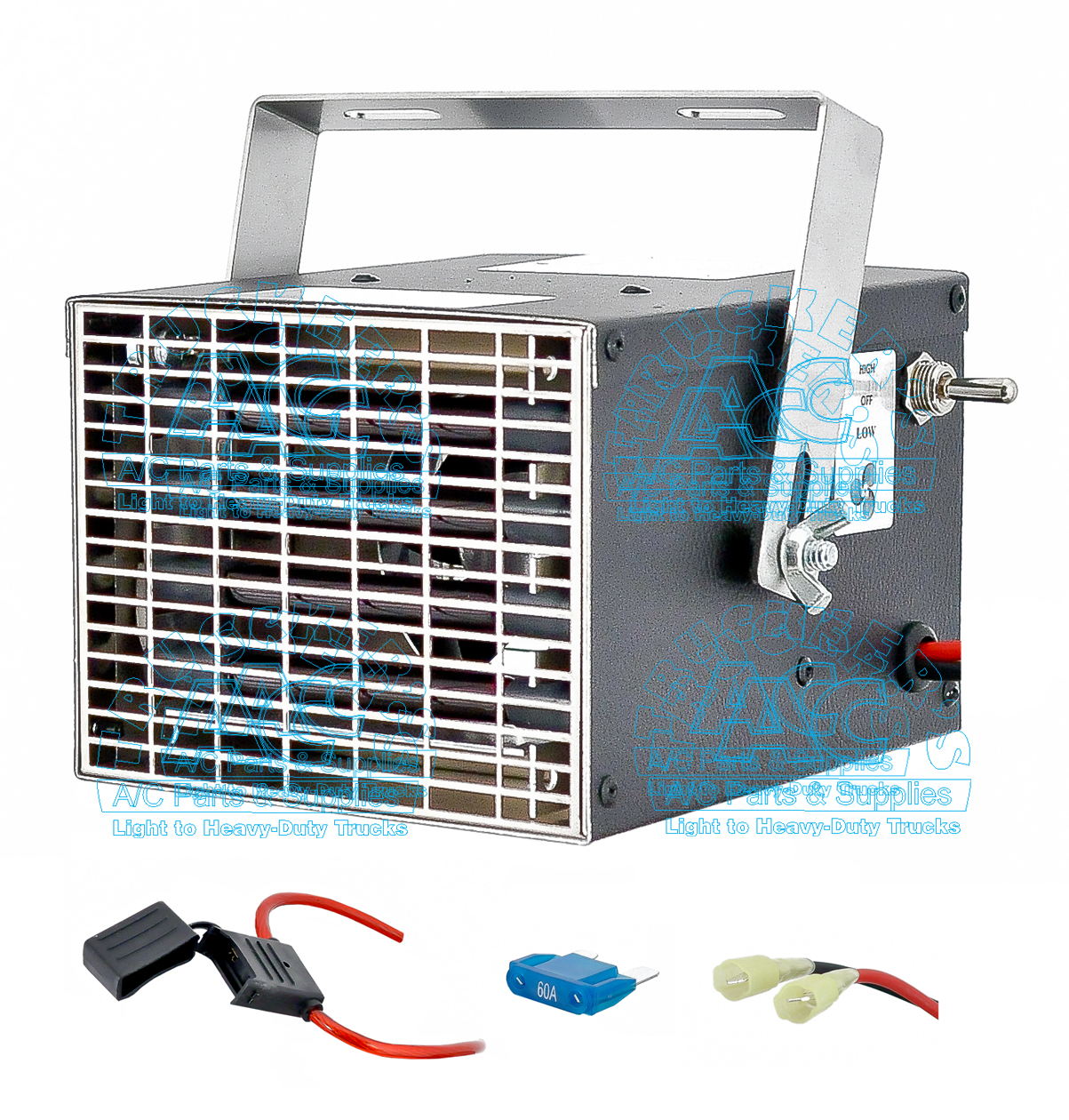 Stealth Dc Heater 12v 600w