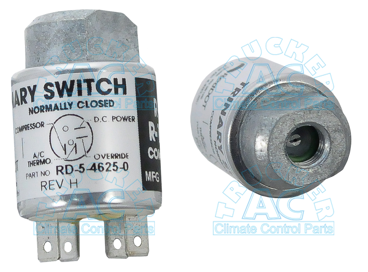 trinary ii switch kenworth oem rd5 4625 0 rh truckerac com 3 Speed Fan Switch Wiring Diagram Trinary Switch Wiring with Electric Fans