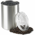 AIRSCAPE STAINLESS STEEL COFFEE CANISTER 64