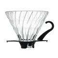 HARIO SPIRAL GLASS DRIPPER SIZE 02 (VDG-02B)
