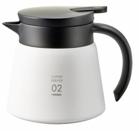 HARIO V60 VACUUM INSULATED METAL SERVER 600 ML (VHS-60)