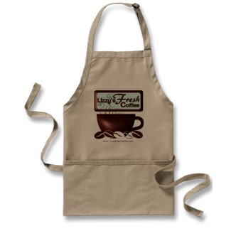LIZZY'S FRESH COFFEE BARISTA APRON