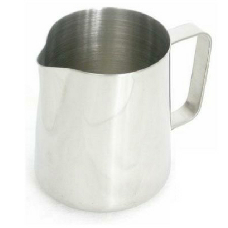 PITCHER STEAMING 12 OZ TAPERED SS (UP12)