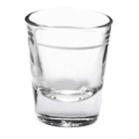 SHOT GLASS 1.5 OZ 1 OZ LINE (HO5120)