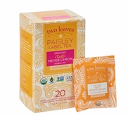 TWO LEAVES AND A BUD PAISLEY TEA-20 PK
