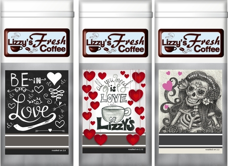 VALENTINE COFFEE-12 OZ