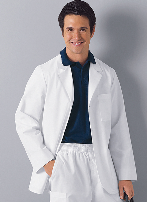 Cherokee Mens Consultation Lab Coat XS-5XL 1389