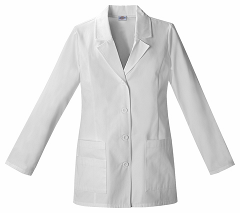 Dickies Womens fashion Lab Coat 84406