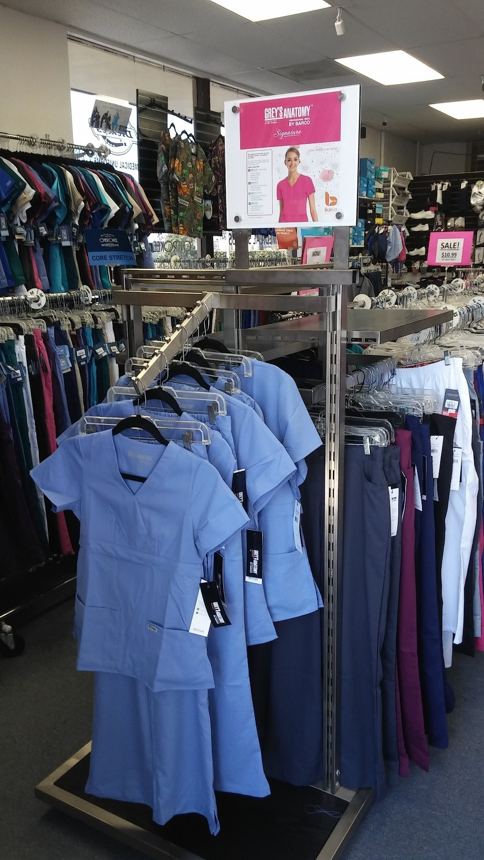 Grey's Anatomy scrubs at Scrub Mart Chula Vista