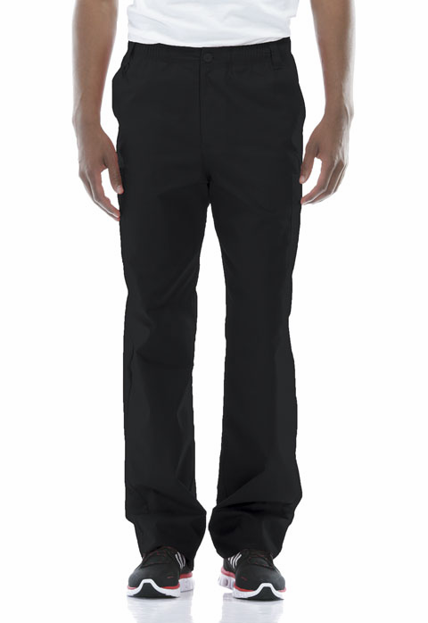 Men's Zip Fly pull on Cargo Scrub Pant 81006