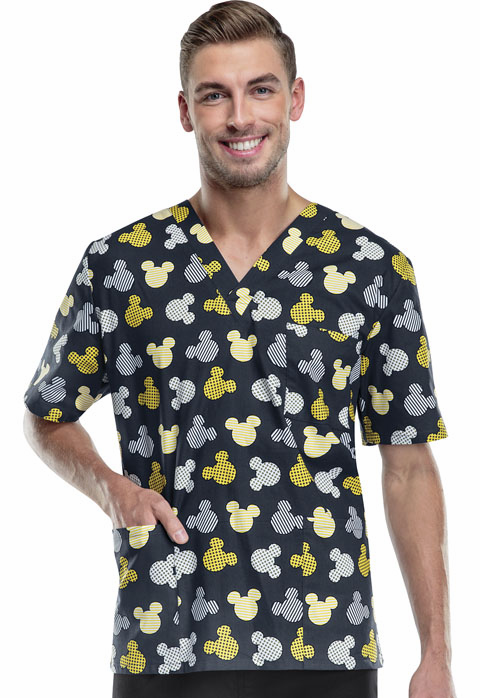 Mickey Mouse Unisex scrub top Disney 6876c MKBV