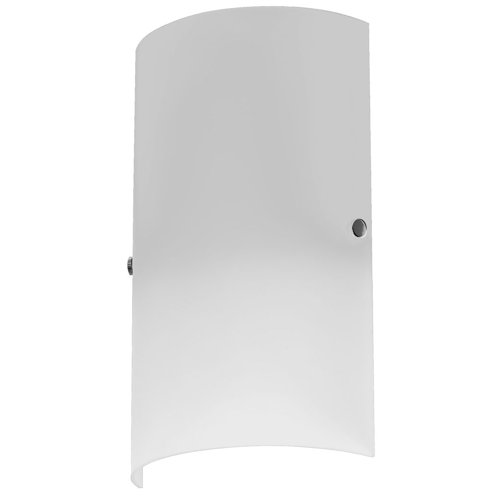 Wall Lights Frosted Glass : Dainolite Lighting (83204W-WH) 1 Light Wall Sconce in Frosted White with White Frosted Glass