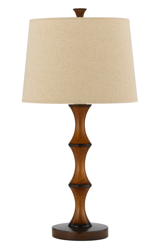 100w resin bamboo table lamp shown in wood by cal lighting bo 2039tb. Black Bedroom Furniture Sets. Home Design Ideas