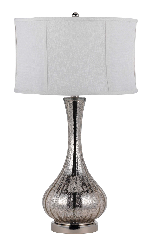way capreol glass table lamp shown in aged glass by cal lighting. Black Bedroom Furniture Sets. Home Design Ideas